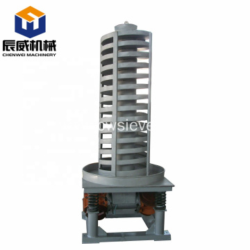 vertical screw elevator for building material