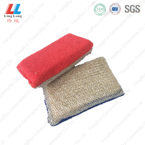 Soft massaging cleaning exfoliating sponge