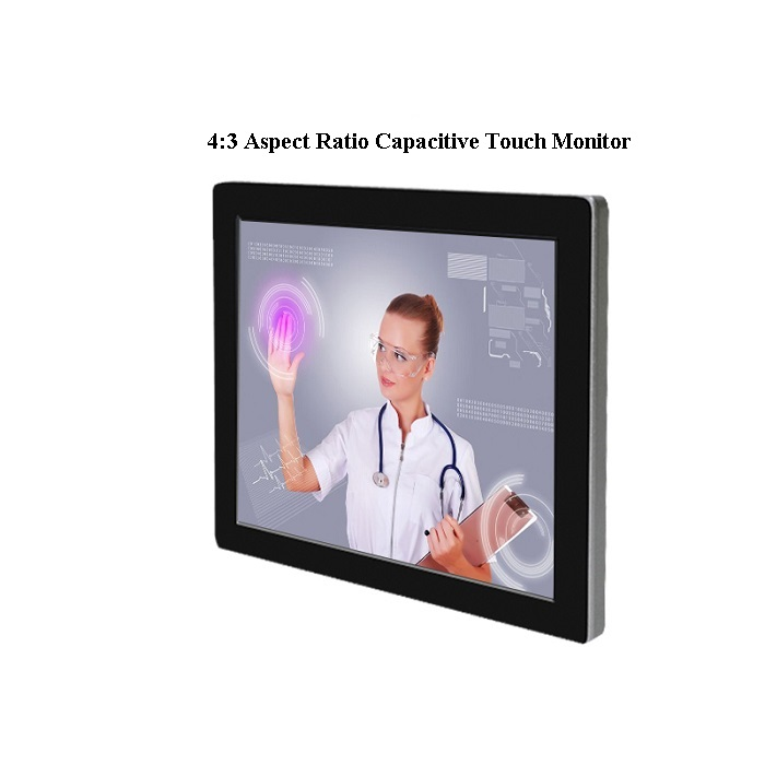 Square Capacitive Touch Monitor