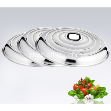 High Quality Stainless Steel Cooking Pot Cover
