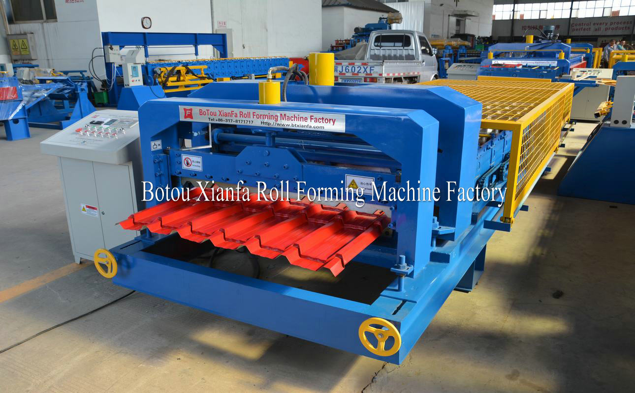 roof tile panel production line