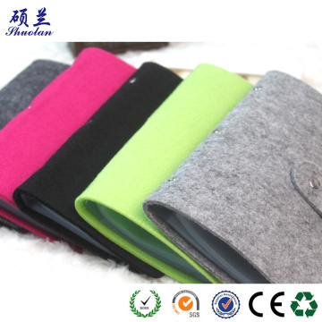 Hot selling felt card holder bag organizer