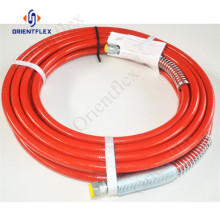 1/4 high pressure paint spray solvent hose 227bar