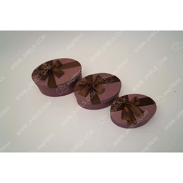 Purple Wholesale Ribbon Candy Gift Box