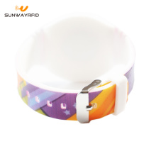 Best-Selling for 13.56Mhz RFID NFC Wristband Custom logo rfid wristbands for events supply to Cayman Islands Factories