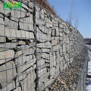 Gabions Application Galvanized Iron Wire Hesco Barrier