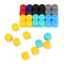 Non-toxic Loose Teething Beads Silicone