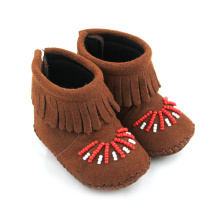 China for Baby Leather Boots Import Children Shoes Baby Boots Leather Boots export to Portugal Factory