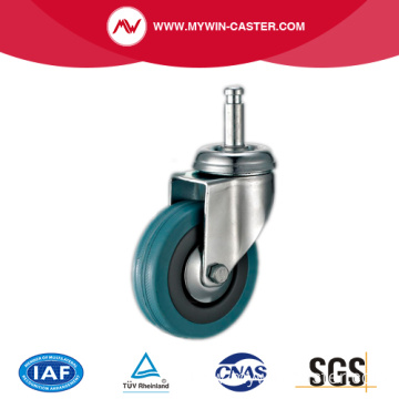 Grey Rubber Light Duty Caster