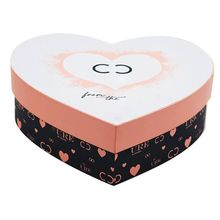 Wholesale Rigid Heart Shape Gift Packaging Paper Box