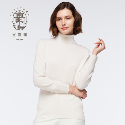 Women's Cashmere Turtle Neck Sweater