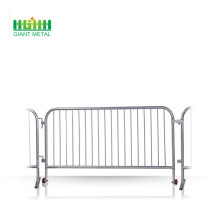 Galvanied crowd control barrier