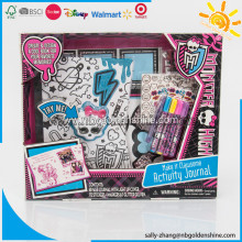 Monster High Light-up Journal Activity Set