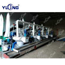 Popular brand wood dust pellet making machine line