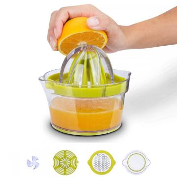 Multifunctional manual juicer hand squeezer
