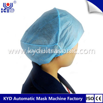Automatic Ultrasonic Disposal Surgical Cap Making Machine