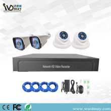 4chs 2.0MP H.265 IP Camera POE NVR Kits