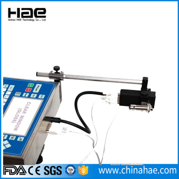 High resolution date time ink jet printer