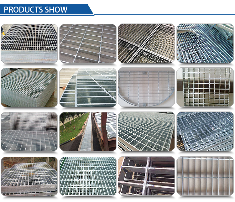 Hot-dipped Galvanized I Steel Grating