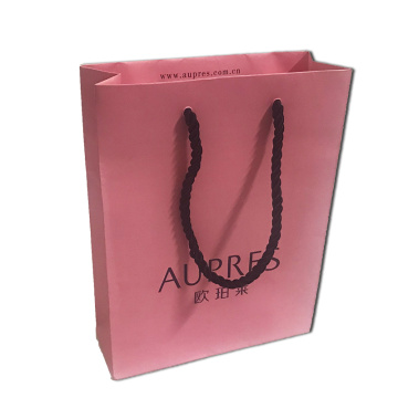 Leading Manufacturer for Paper Gift Bags Cheap paper bags with handles supply to Saint Vincent and the Grenadines Manufacturer