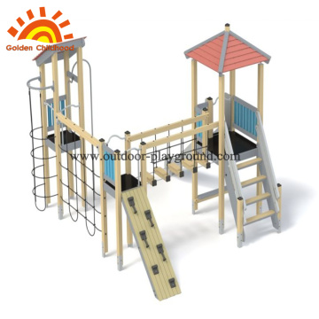 HPL outdoor playground  climb net