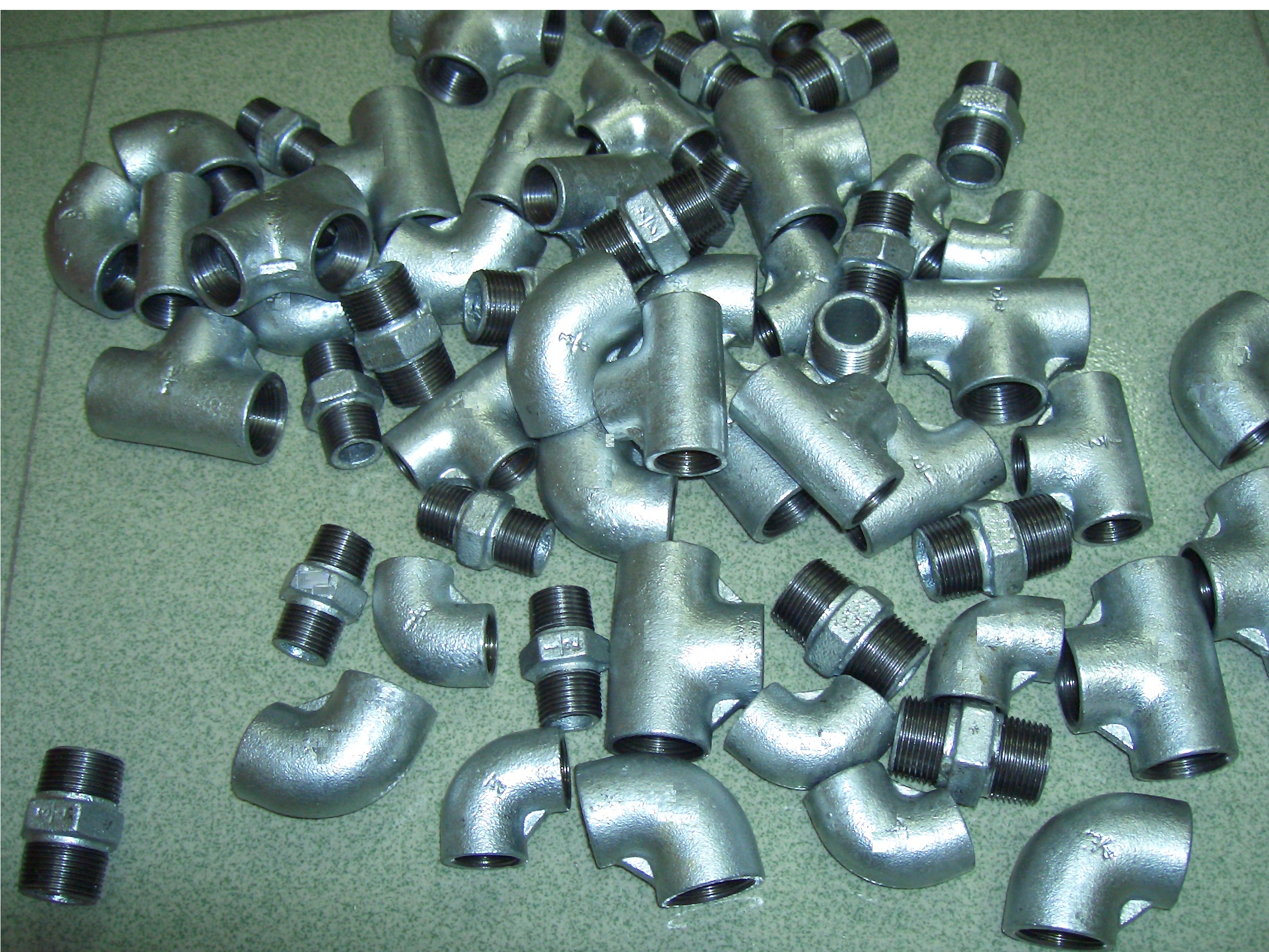 plain type malleable iron iron pipe fittings