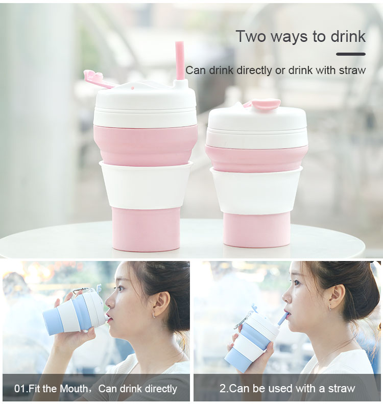 Silicone Reusable Coffee Cup