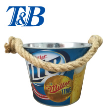 Best quality and factory for Galvanized Ice Bucket Ice Bucket With Rope Handle export to United States Supplier