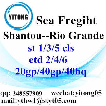 Shantou Logistics Services to Rio Grande