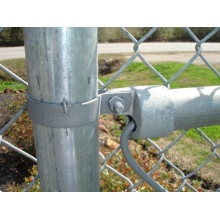 Electro galvanized chain link fence 1.5mX30m per roll