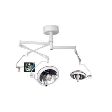 Double Dome Halogen Operating Lamp with Camera System