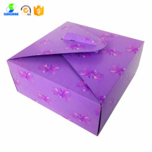 white card Food Grade Cake Boxes Packaging