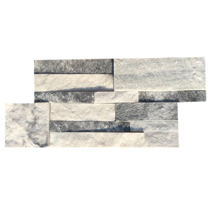 Natural Exterior Wall Grey Quarzite Stone Panel