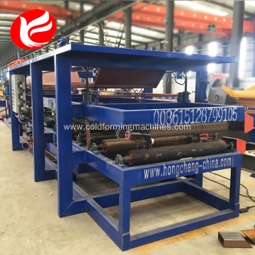 Rockwool  EPS sandwich panel roll forming machine