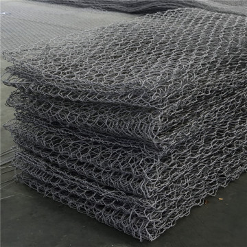 Double Twist Gabion Box For Rock Filled