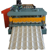 Single layer glazed roll forming machine