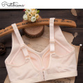 Wholesale women cotton padded sports bra