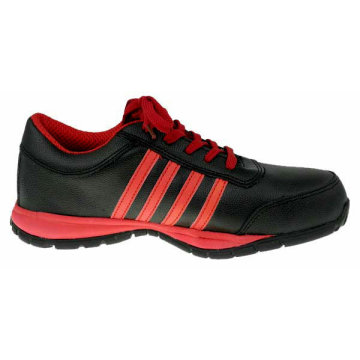 Full Grain Leather Athletic Sport Safety Shoes
