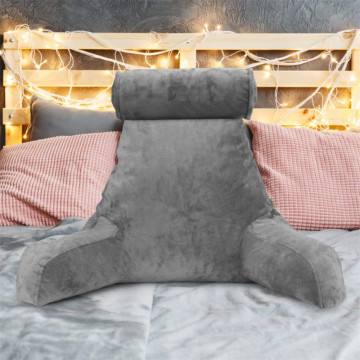 Home Bed Rest With Arms Read Pillow