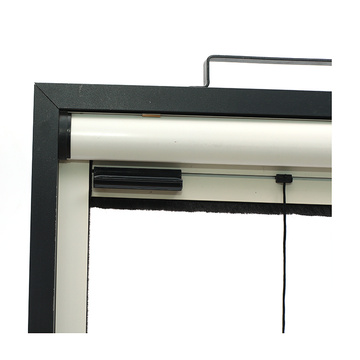 Retractable window with aluminum frame 0915