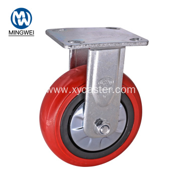 Heavy Duty pvc 6 Inch Rgid Casters