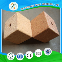 Particle Board Block for Making Pallet