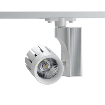 LED Fixed Track Lights Fixtures 4 Phase 30W