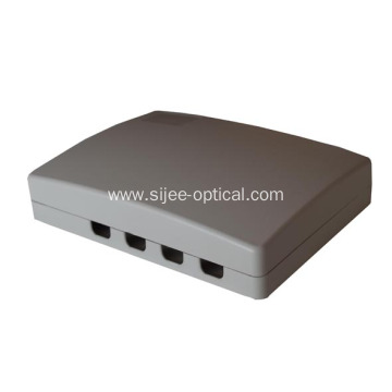 Wall Mount 4 ports  Fiber Optic Socket