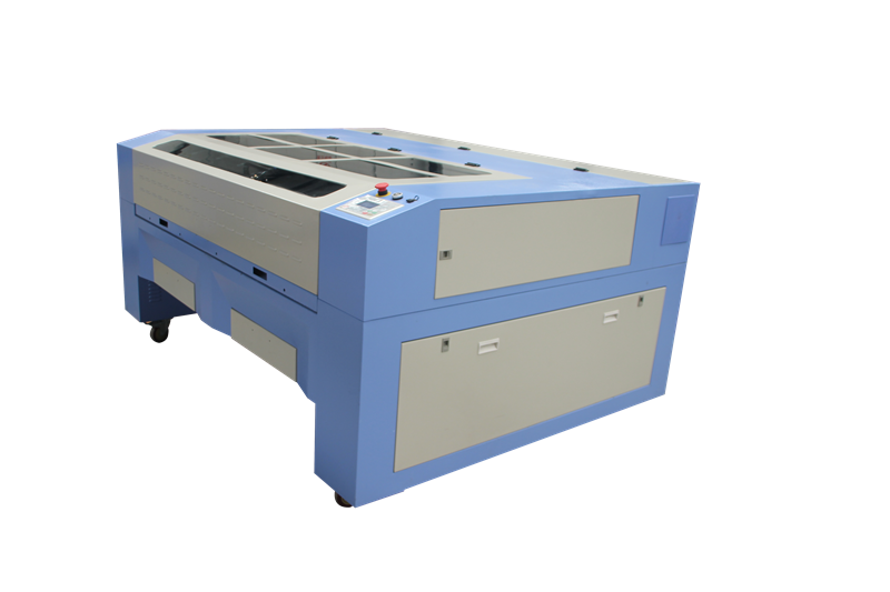 Double head CO2 laser cutting and engraving machine