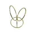 Makeup Blender Sponge Holder 3-circles Round Gold