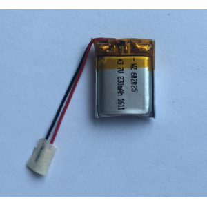 3.7v 230mAh Lipo Battery For Phone Watch (LP2X2T6)