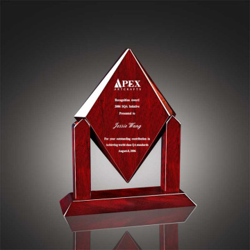 Free design apex clear acrylic trophy awards