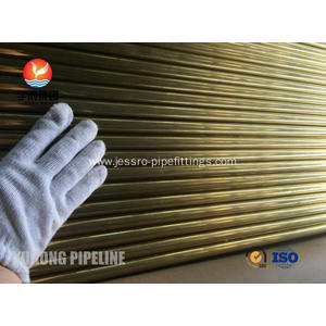 China Top 10 for  Seamless Brass Tube ASTM B111 C44300 19.05 x 1.65 M/W x 4877 supply to Gabon Exporter