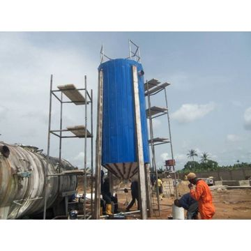 overseas service waste oil distllation machine